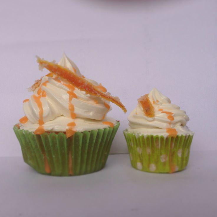 Cupcakes de Naranja con Almendras