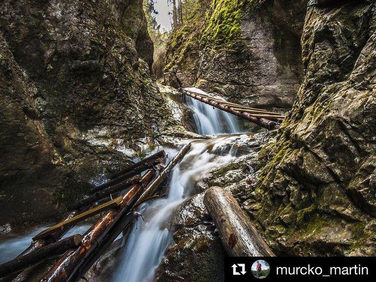 Čas naplánovať si víkend. A čo tak Jarabina? Vyzerá to na pekný výlet  #praveslovenske od @murcko_martin  #slovakia #slovensko #jarabina #jarabinskyprielom #rocks #trees #nature #trip #landscape #water #adventure