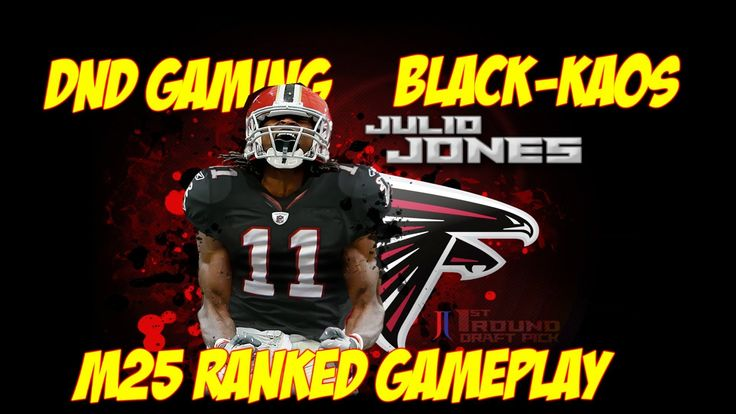 M25 ONLINE RANKED GAMEPLAY | DND GAMING | ATL FALCONS | MATT RYAN IS A B...