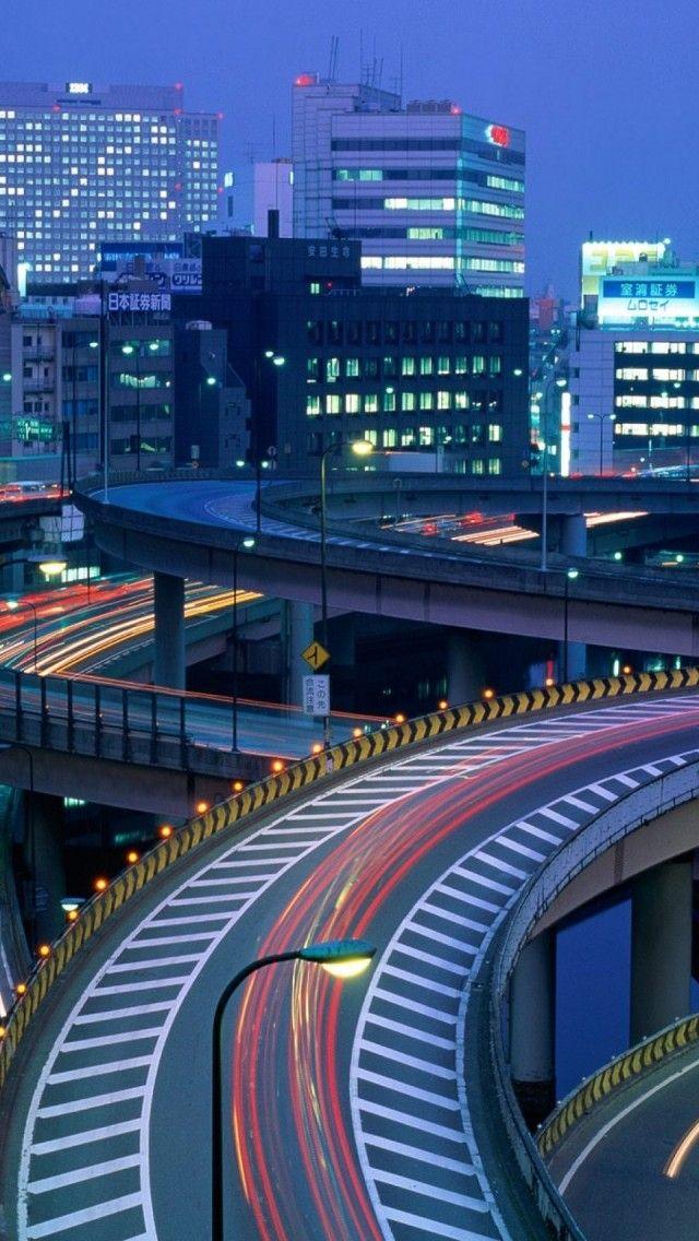 Tokyo At Night  Japan