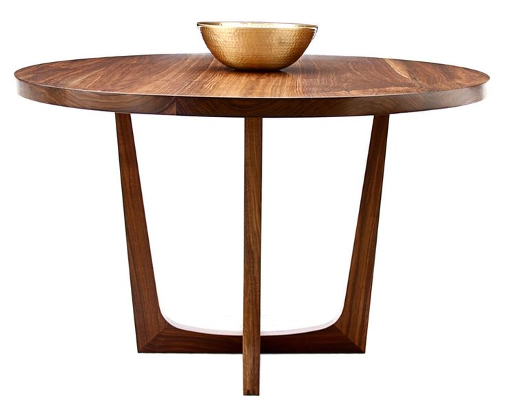 Manhattan Series No3  Contemporary, Industrial, MidCentury  Modern, Organic, Transitional, Wood, Dining Room Table by Whyr Hymer (=)