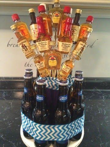 The Smart Momma: Alcohol Bouquet