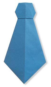 Origami Necktie