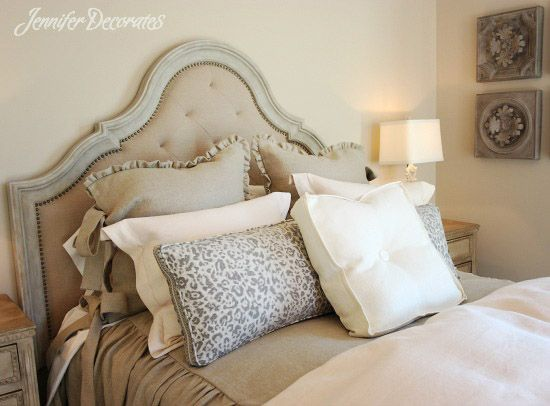 Headboard Ideas from Jenniferdecorates com. 17 Best images about Bedroom Decorating Ideas on Pinterest   Sarah