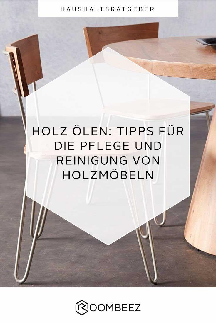Holz ölen und reinigen » Tipps für die Möbelpflege  Holz