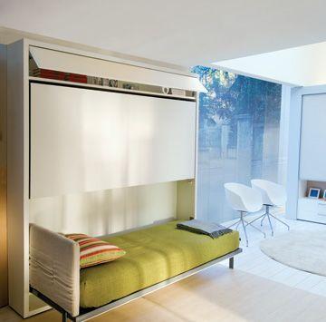 Compact living skapseng madrass sovesofa m bler senger interi r stoler skapsenger - Hideable furniture ...