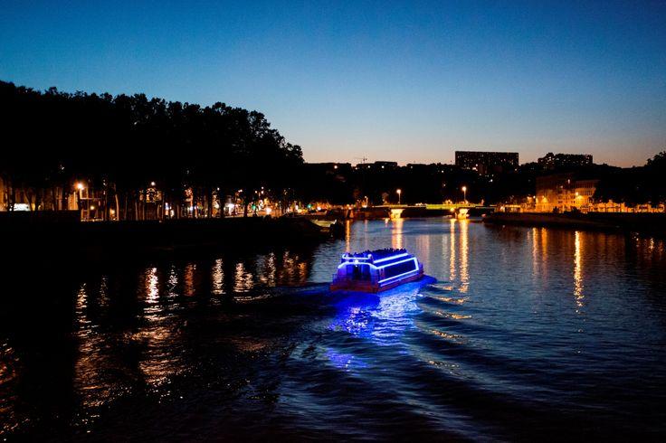 Croisières promenades - Fête des lumières 2016 - Lyon City Boat