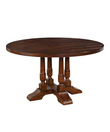 Love this Brown Cherry Trina Transitional Plank-Style Dining Bench on #zulily! #zulilyfinds