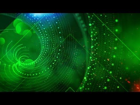 Effective Overlay green screen golden particles slideshow