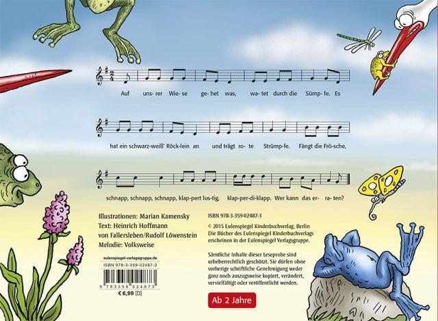 Auf Unsrer Wiese Gehet Was Eulenspiegel Kinderbuchverlag