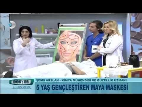 Maya Maskesi ile Cilt Yenileme ve Kırışıklık Sarkma Tedavisi Şems Aslan