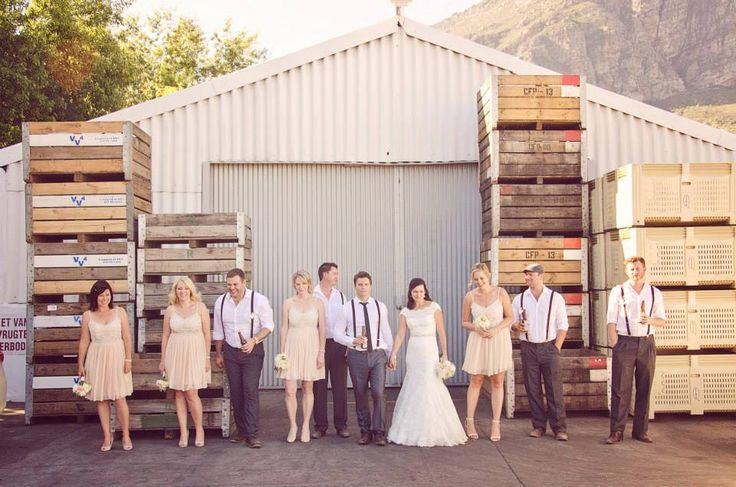 Rustic, Cute Wedding