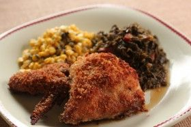 Sara's Weeknight Meals: 5-Ingredient Oven-Fried Chicken (& sides) ... see…