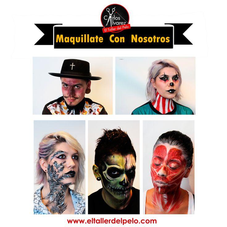 Cada halloween te ofrecemos lo mejor en maquillaje artístico. Ven! maquíllate con nosotros