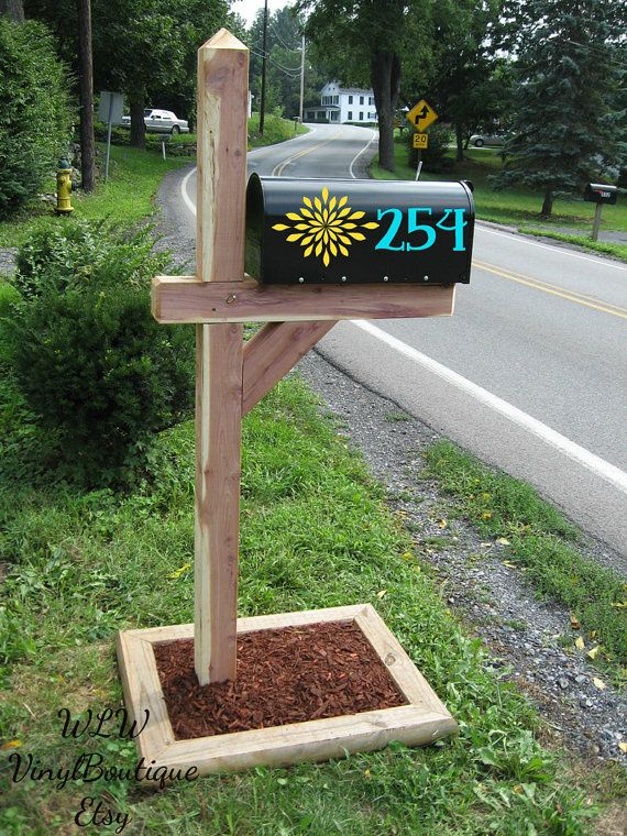 Hey, I found this really awesome Etsy listing at https://www.etsy.com/listing/205573504/set-of-2-mailbox-decals-for-each-side