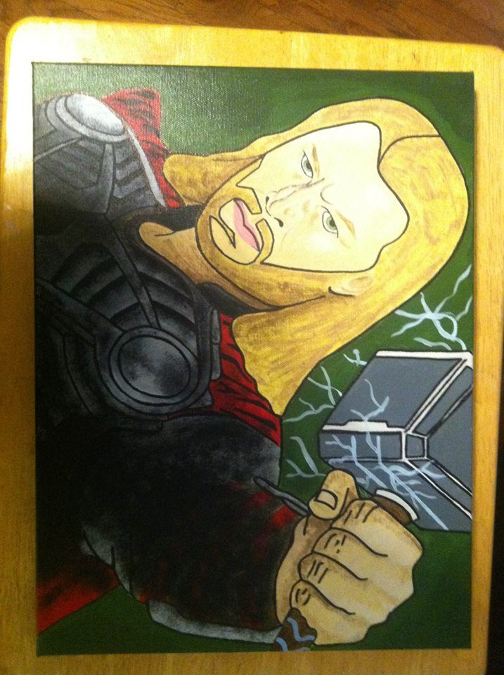 Canvas Painting- Thor
