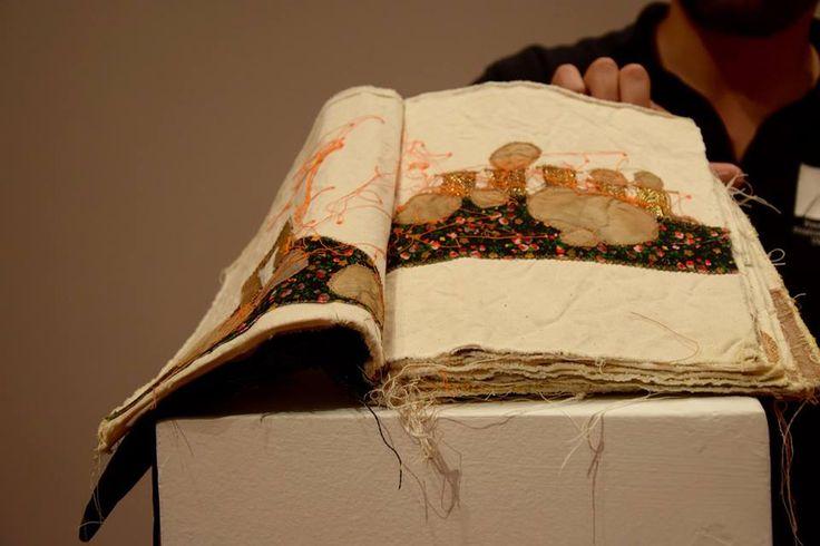 Il 'Dio distratto' di Maria Lai al Museo Stazione dell'Arte, Ulassai, Ogliastra