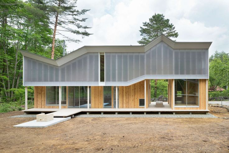 This is the second house at the foot of Mt. Fuji. Because of deep forest, we…