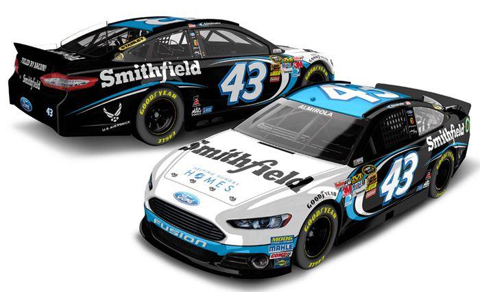 nascar diecast   Aric Almirola Diecast - Aric Almirola NASCAR Diecast Cars