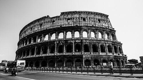 Colosseum Roma #colosseo #roma #storia #rome #b&n #RiccardoLocci