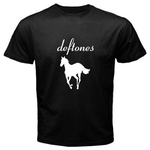Deftones White Pony Men Black T-Shirt via Greatest Gift