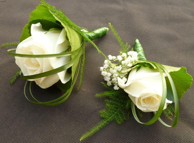 Corsages van Cristal rozen