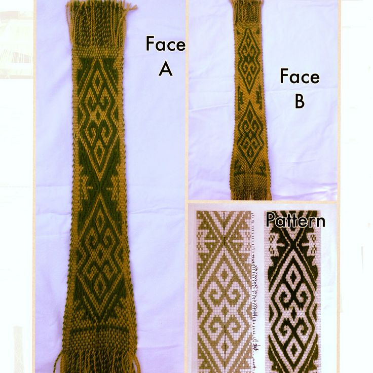 Tejido mapuche, weaving mapuche.