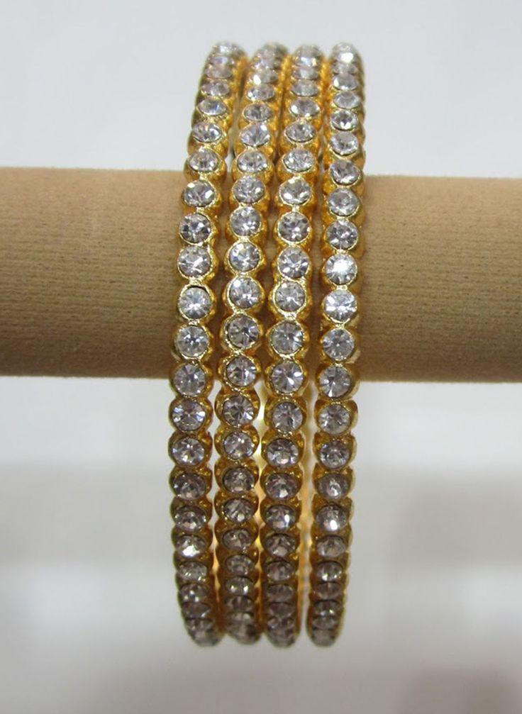 diamond bangle by sk_jewels