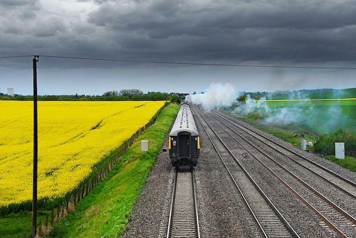 Потрясающие фотографии поездов