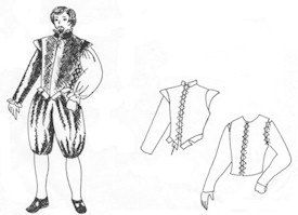WN109  - 14th -15 Th Century Patlock and 16th-17th Doublet Pattern (3 Size Options)