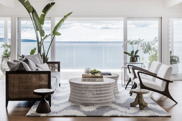 Pure Hamptons Luxury. Curate your dream living space with the Taylor Sofa, Oslo Lounge Chair and Only Pipa Cocktail Tables. All pieces and accessories available in store or online. #CocoRepublic #interiors #summer #home #style #Hamptons