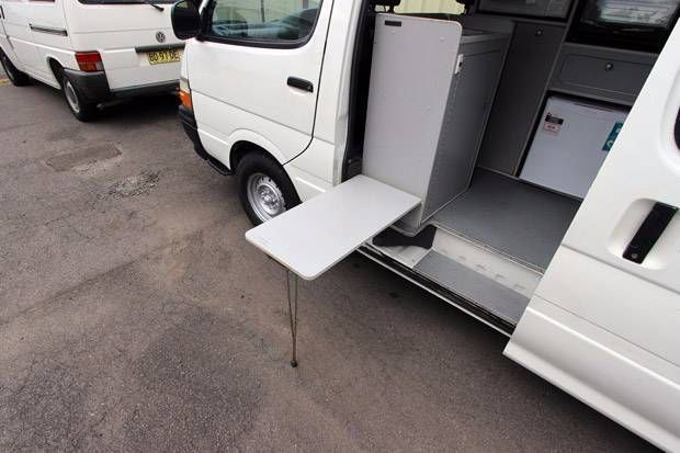 toyota hiace high roof camper 5778 for sale 7 - Caravans for sale – Used and new caravans