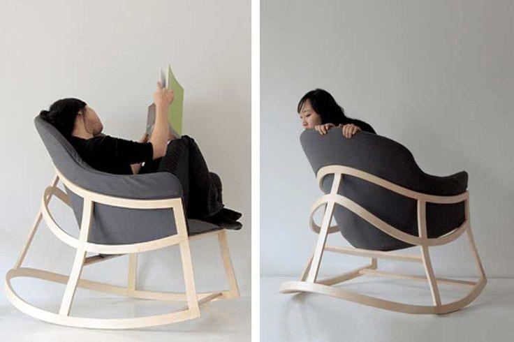 Mecedoras modernas para una siesta de lo más relajante