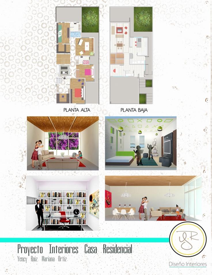 Diseño de interiores para Casa residencial