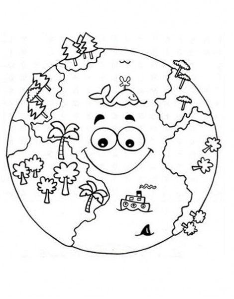 Dibujos De Ciencias Naturales Para Colorear Dibujos De Ciencias Naturales Medio Ambiente Para Colorear Paginas Para Colorear