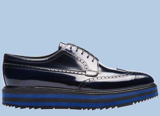 Haven't got these ones yet...but love Prada shoes for men lately ....my dad said for the price of the last pair I bought you could have bought a car !