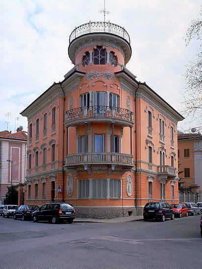 Palazzina Galliano in Cuneo, Italy