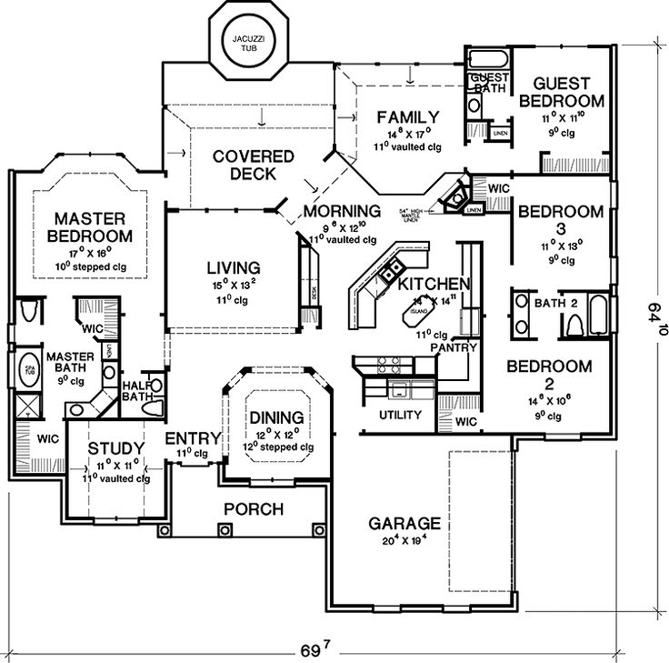 3 Story House Floor Plans 818 best house plans images on pinterest | house floor plans