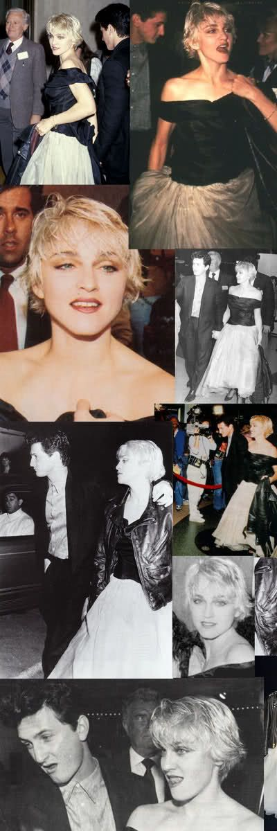 Madonna and Sean Penn the premiere of At Close Range at the Mann's Bruin theater in Westwood, CA on April 16, 1986.