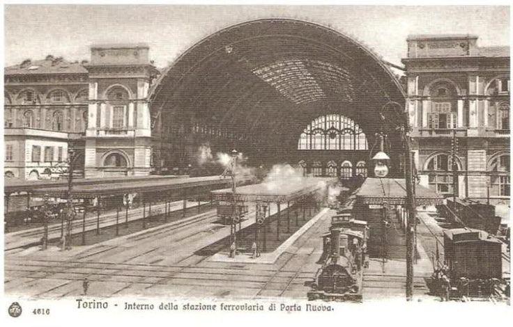 Struttura originaria di Stazione Porta Nuova http://www.torinovintage.it/torino-antica/struttura-originaria-stazione-porta-nuova