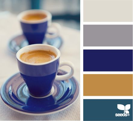 ✯ Color Sip - Love these colors together