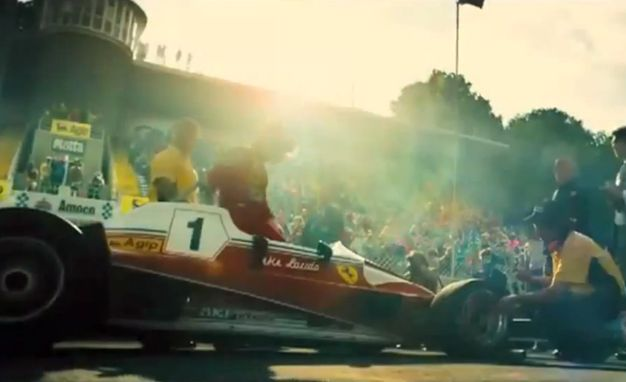 Rush. Ron Howard. Writer: Peter Morgan Cinematography by Anthony Dod Mantle