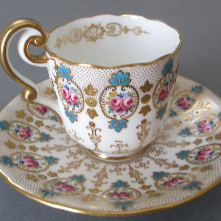 2365 best Beautiful teacups and saucers images on Pinterest | Tea ...