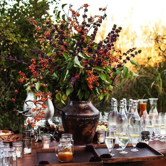 Throw A Fall Inspired Southern Bridal Brunch