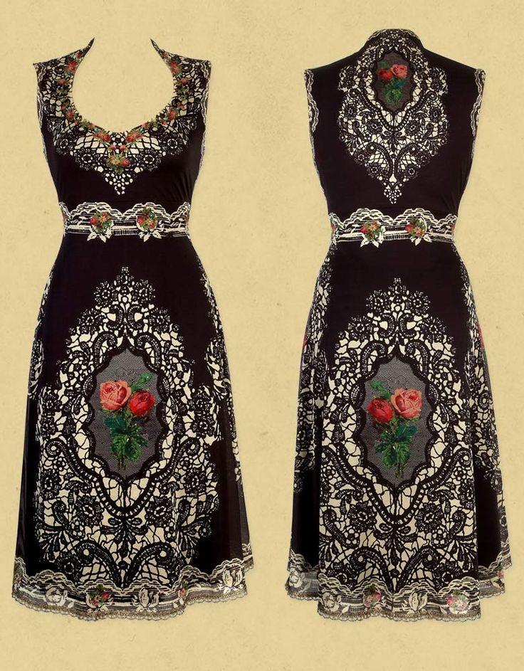 NN Michal Negrin. I want this dress! I'd wear it tomorrow. ;-)