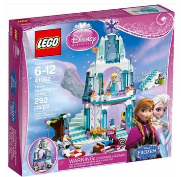 Frozen Castle Lego set at Target $40