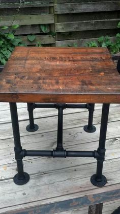 Nice Old Butcher Block~this For Both The Butcher Block AND The Chefu0027s Table? Like