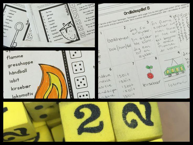 Ordlistespill A & B – to overraskelser i en! | Begynneropplæring med Runar
