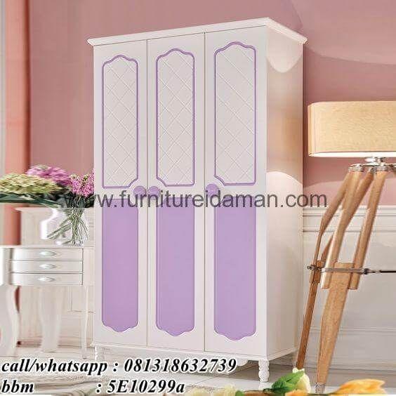 Lemari Pakaian 3 Pintu Minimalis Terbaru-Berikut kami tawarkan untuk anda,salah satu produk andalan dari furniture idaman.com miliki dengan desain minimalis
