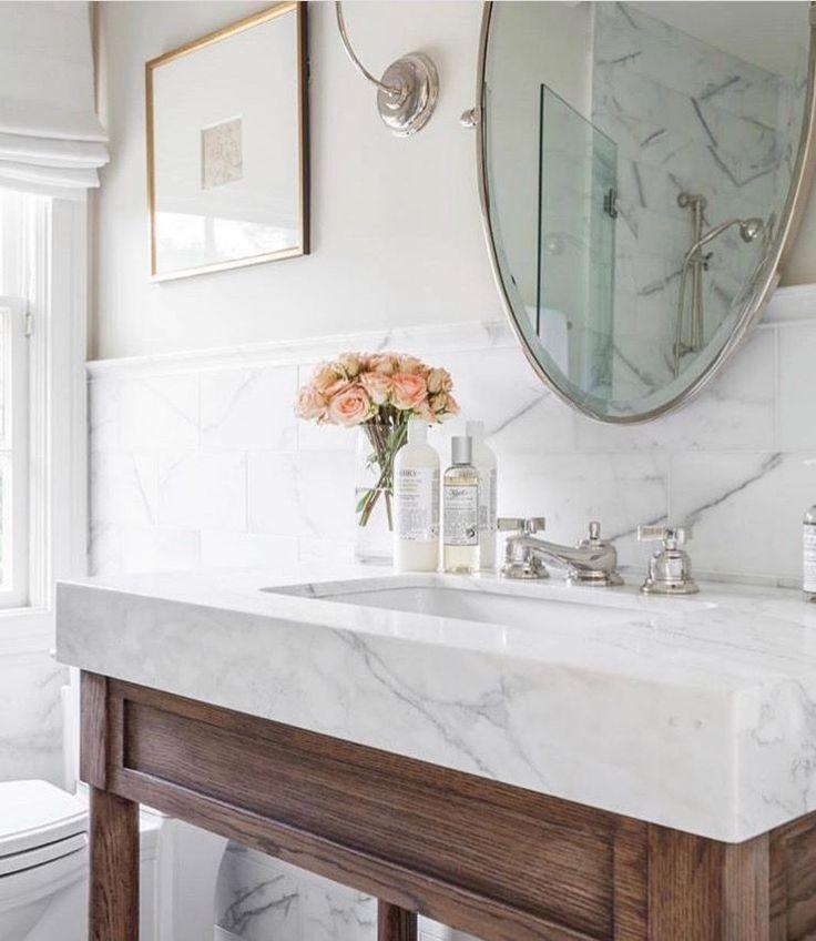 25 Best Ideas About Beach Bathrooms On Pinterest: Best 25+ Oval Bathroom Mirror Ideas On Pinterest
